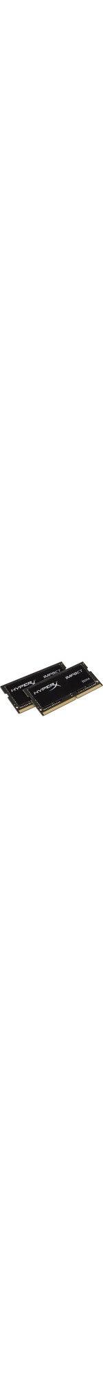 Kingston HyperX Impact RAM Module - 32 GB 2 x 16 GB - DDR4 SDRAM - 2400 MHz DDR4-2400/PC4-19200 - 1.20 V - Non-ECC - Unbuffered - CL14 - 260-pin - SoDIMM