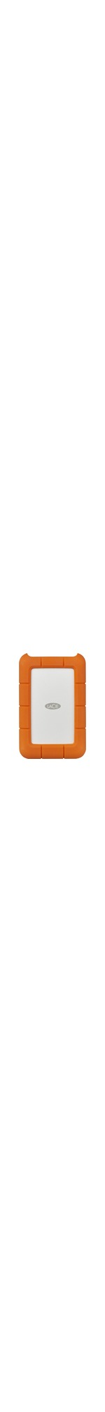 LaCie Rugged STFR4000800 4 TB Desktop Hard Drive - 2.5And#34; External - Orange - USB Type C
