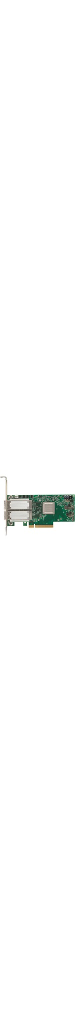 Mellanox ConnectX-4 50Gigabit Ethernet Card for Server - PCI Express 3.0 x8 - 2 Ports - Optical Fiber