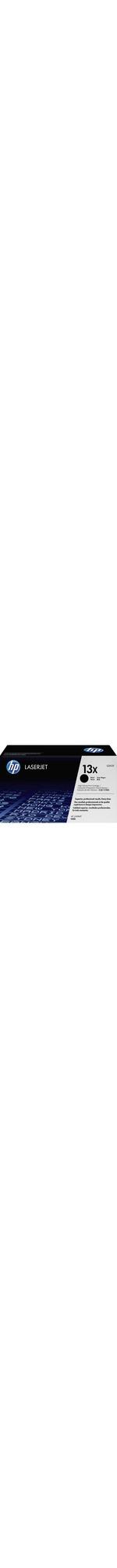 HP 13X Toner Cartridge - Black - Laser - 4000 Page - 1 Each