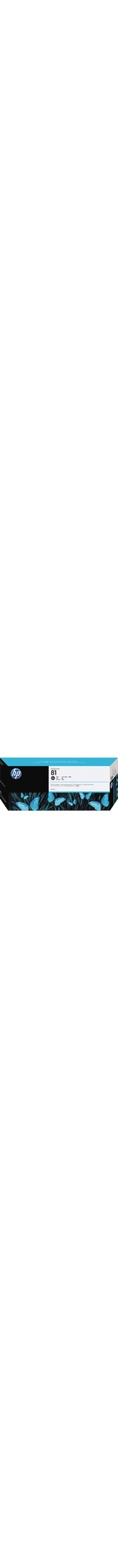 HP No. 81 Ink Cartridge - Black