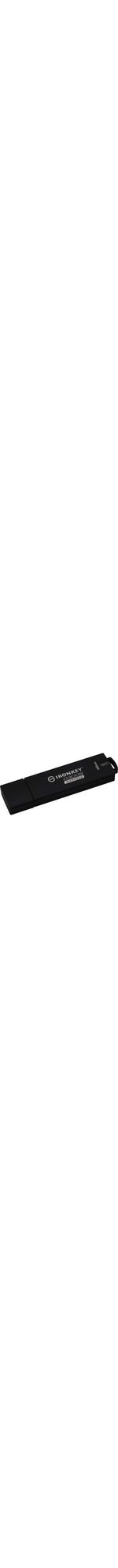 Kingston IronKey D300 D300S 16 GB USB 3.1 Flash Drive - Anthracite - 256-bit AES - TAA Compliant