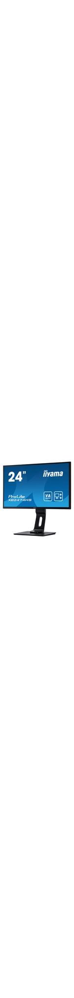 iiyama ProLite XB2474HS-B2  23.6And#34; Full HD LED LCD Monitor - 16:9 - Matte Black