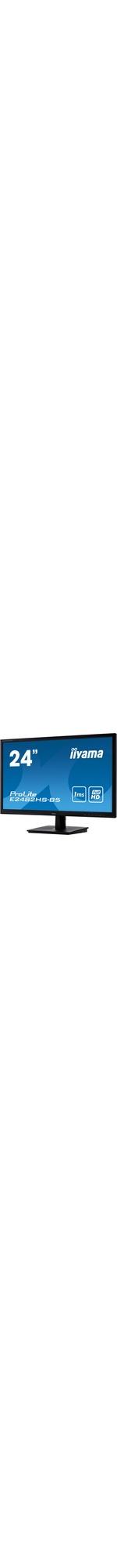iiyama ProLite E2482HS-B5 24And#34; Full HD LED LCD Monitor - 16:9 - Matte Black