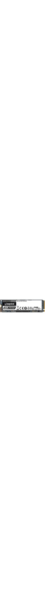 Kingston KC2500 250 GB Solid State Drive - M.2 2280 Internal - PCI Express NVMe PCI Express NVMe 3.0 x4 - Desktop PC, Workstation Device Supported - 150 TB TBW - 3