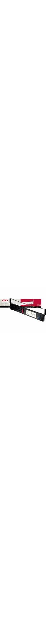 Oki 40629303 Ribbon Cartridge - Black