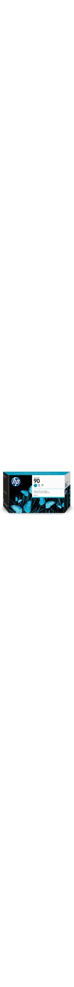 HP 90 Cyan Ink Cartridge 225ml