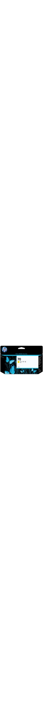 HP No. 70 Ink Cartridge - Yellow