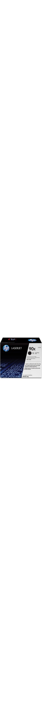 HP 90X Toner Cartridge - Black - Laser - 24000 Page - 1 Each