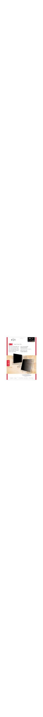 3M PF18.4W9 Matte Privacy Screen Filter - For 46.7 cm 18.4And#34; Widescreen Monitor