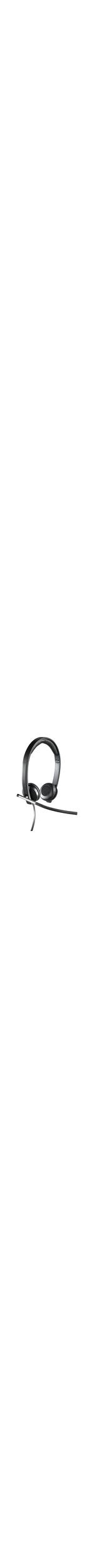 Logitech H650e Wired Headset - Over-the-head - Supra-aural - 50 Hz - 10 kHz - USB