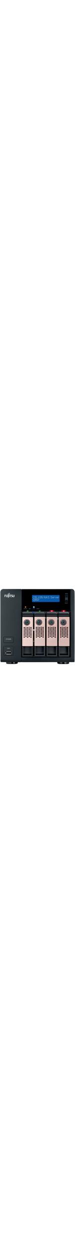 Fujitsu CELVIN Q802 4 x Total Bays NAS Server - Tower - Intel Atom2.10 GHz - 12 TB HDD 4 x 3 TB Serial ATA/600 SSD - 1 GB RAM DDR3 SDRAM - RAID Supported 0, 1, 5,