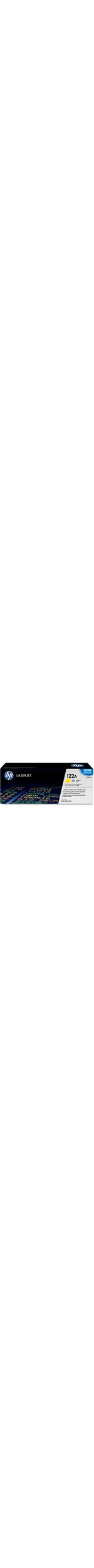 HP 122A Toner Cartridge - Yellow - Laser - 4000 Page Colour - 1 Each