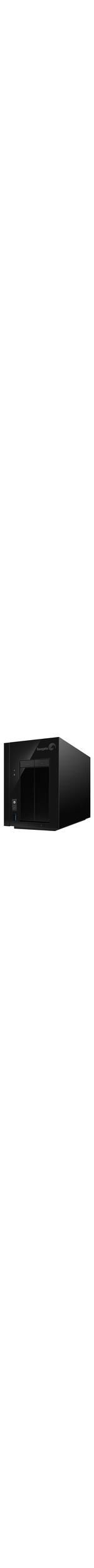 Seagate NAS Pro STDD8000200 2 x Total Bays NAS Server - Desktop
