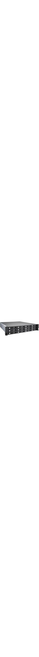 QNAP Turbo vNAS TVS-1271U-RP 12 x Total Bays SAN/NAS Server - 2U - Rack-mountable - Intel Core i5