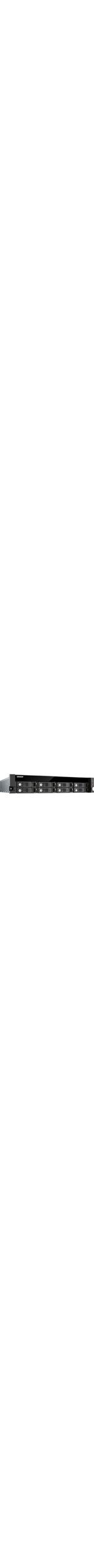 QNAP Turbo NAS TS-853U 8 x Total Bays NAS Server - 2U - Rack-mountable - Intel Celeron Quad-core 4 Core 2 GHz - 4 GB RAM DDR3L SDRAM - Serial ATA/600 - RAID Suppor