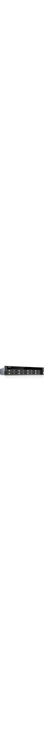 QNAP Turbo NAS TS-853U-RP 8 x Total Bays NAS Server - 2U - Rack-mountable - Intel Celeron Quad-core 4 Core 2 GHz - 24 TB HDD - 4 GB RAM DDR3L SDRAM - Serial ATA/60