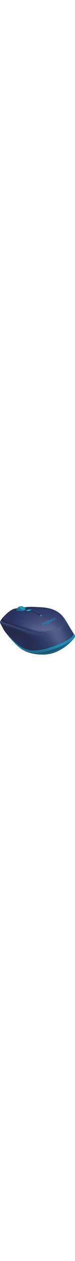 Logitech M535 Mouse - Optical - Wireless - Blue - Bluetooth - 1000 dpi - Computer - Tilt Wheel