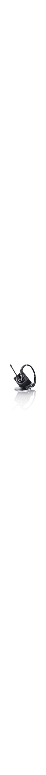 Sennheiser DW Pro2 USB ML EU Wireless DECT 50 mm Stereo Headset - Over-the-head - Circumaural - Black - 180 m