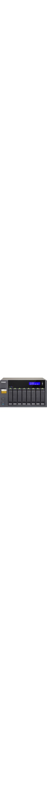 QNAP Turbo NAS TS-853A 8 x Total Bays NAS Server - Desktop - Intel Celeron N3150 Quad-core 4 Core 1.60 GHz - 4 GB RAM DDR3L SDRAM - Serial ATA/600 - RAID Supported