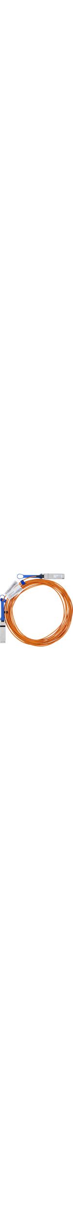 Mellanox Fibre Optic Network Cable for Network Device - 3.05 m - 1 x QSFP Male Network - 1 x QSFP Male Network