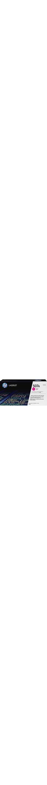 HP 507A Toner Cartridge - Magenta - Laser - 6000 Page - 1 Pack