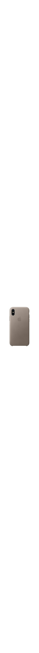 Apple Case for Apple iPhone X Smartphone - Taupe