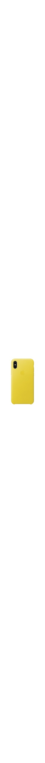 Apple Case for Apple iPhone X Smartphone - Spring Yellow
