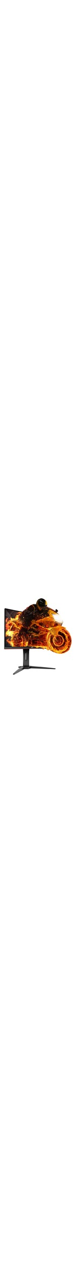 AOC C24G1 24And#34; Full HD Curved Screen WLED LCD 144Hz Gaming Monitor - 16:9 - Black