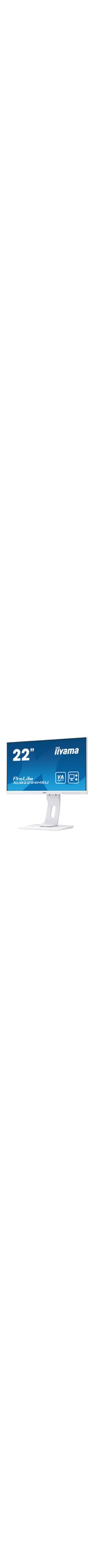 iiyama ProLite XUB2294HSU-W1 21.5And#34; Full HD LED LCD Monitor - 16:9 - Matt White