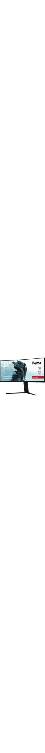 iiyama G-MASTER GB3466WQSU-B1 34And#34; Curved LED display  UWQHD Black