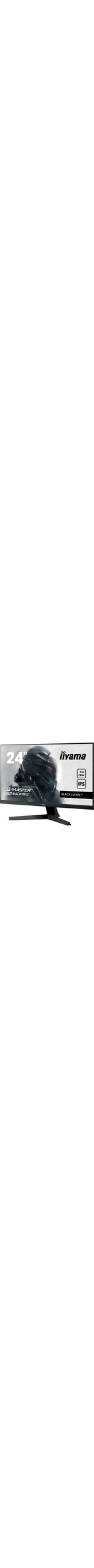 iiyama BLACK HAWK G-MASTER G2440HSU-B1 23.8And#34; Full HD LED LCD Monitor - 16:9 - Matte Black