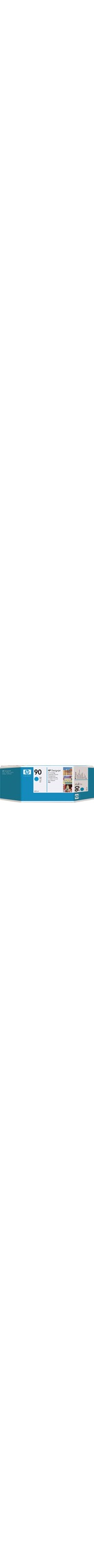 HP 90 Cyan Ink Cartridge - 400ml