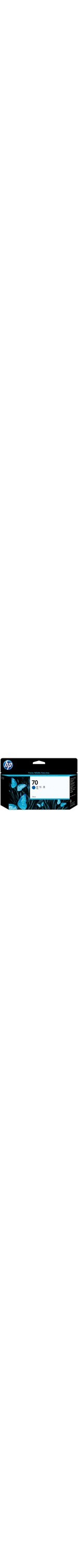 HP No. 70 Ink Cartridge - Blue