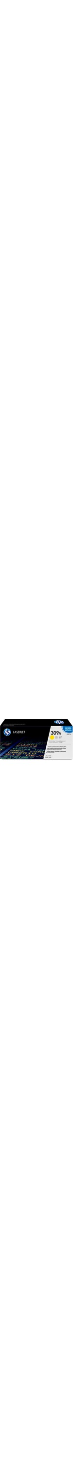 HP 309A Toner Cartridge - Yellow - Laser - High Yield - 4000 Page - 1 Each