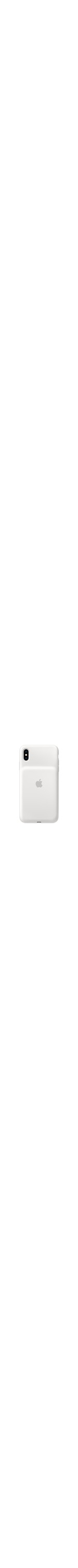 Apple Case for Apple iPhone XS Max Smartphone - Elastomer Hinge - White