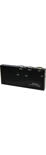 StarTech.com 2 Port High Resolution VGA Video Splitter - 350 MHz - 2Monitor - 2048 x 1536 @ 80 Hz - VGA