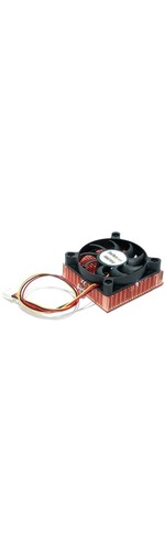 StarTech.com 1U 60x10mm Socket 7/370 CPU Cooler Fan w/ Copper Heatsink Andamp; TX4 - 60 mm - 5000 rpm Ball Bearing