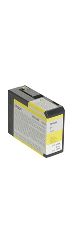 Epson UltraChrome T5804 Ink Cartridge - Yellow