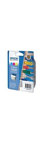 Epson T0520 Ink Cartridge - Cyan, Magenta, Yellow