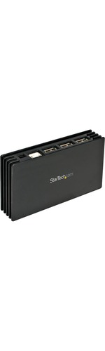 StarTech.com Hub - 7 ports - USB 2.0 - Hi-Speed USB - 7 x 4-pin Type A USB 2.0 USB Downstream