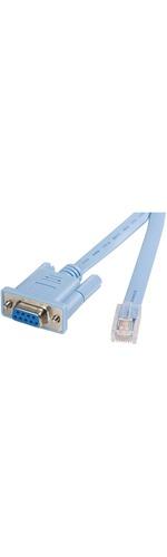 StarTech.com Cisco console router cable - RJ45 m - DB9 f - 6 ft - 1 x RJ-45 Male Network