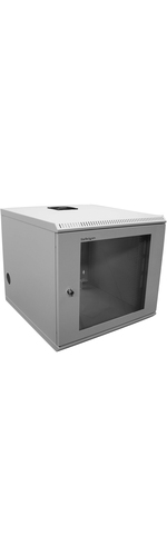 StarTech.com 10U 19And#34; Wallmounted Server Rack Cabinet - Store your servers network and telecommunications equipment securely in this 10U wall-mountable cabinet - Univ