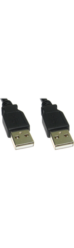 Cables Direct CDL-012 1.80 m USB Data Transfer Cable - First End: 1 x Type A Male USB - Second End: 1 x Type A Male USB