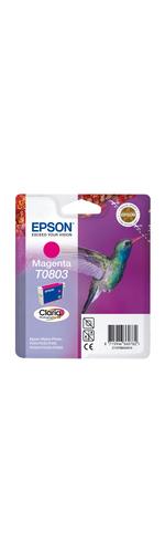 Epson Claria T0803 Ink Cartridge - Magenta