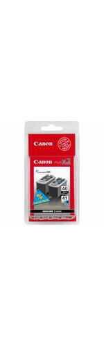 Canon PG-40/CL-41 Ink Cartridge - Black, Colour