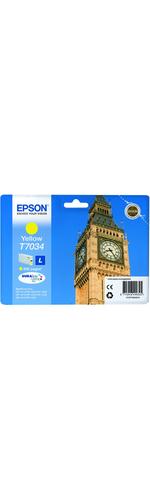 Epson DURABrite Ultra C13T70344010 Ink Cartridge - Yellow