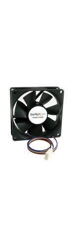 StarTech.com 80x25mm Computer Case Fan with PWM - 1 x 80mm Lubricate Bearing