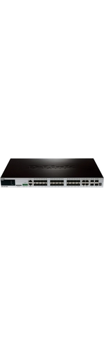 D-Link xStack DGS-3420-28SC 4 Ports Manageable Layer 3 Switch