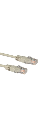 Cables Direct Cat 5e Network Cable - 6m - Grey